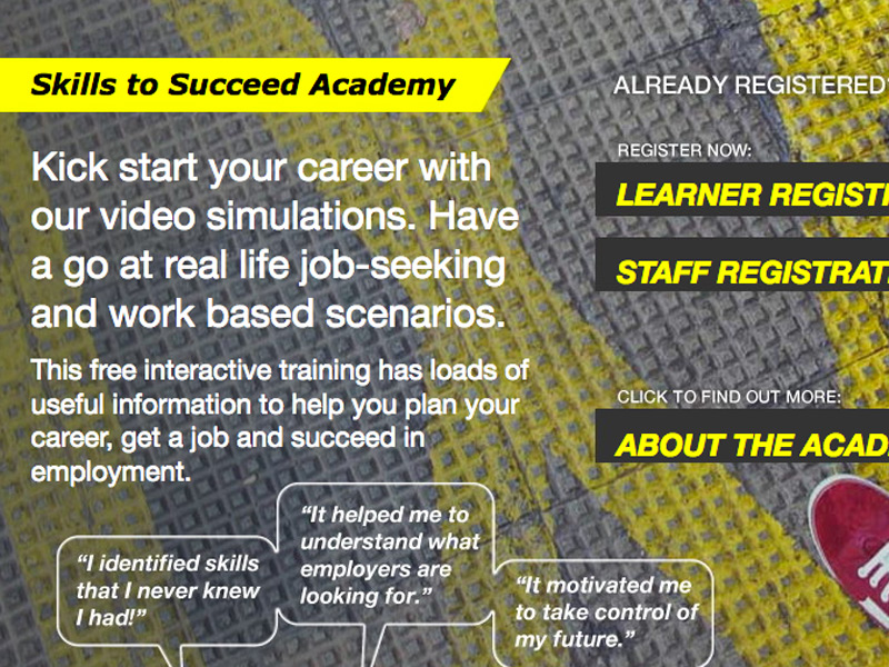 The Skills to Succeed Academy